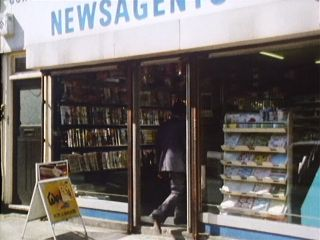 Larry's Newsagent in 'Goodbye Sailor'