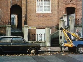 Arnie & Terry repossess an Austin 1100 in 'A Number Of Old Wives Tales'