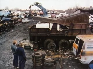 Scrapyard in 'A Number Of Old Wives Tales'