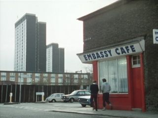 The Embassy Cafe in 'The Long Ride Back To Scratchwood'