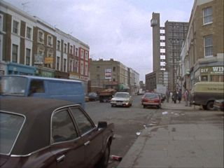 Golborne Road in 'The Return of The Invincible Man'