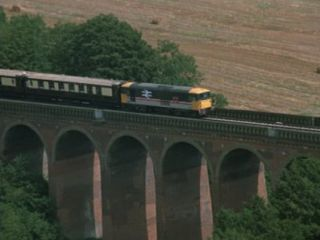 Eynsford Viaduct in 'Minder On The Orient Express'