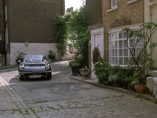 Nikki South's Mews House in 'Minder On The Orient Express'