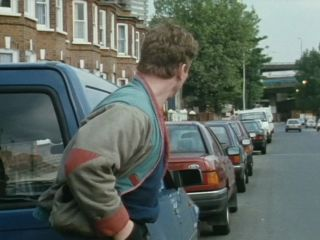 George's van on Latimer Road in 'It's A Sorry Lorry, Morrie'