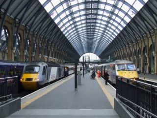King's Cross Station in 'A Bird In The Hand Is Worth Two In Shepherds Bush'