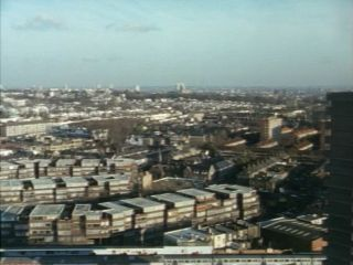 View of London in 'A Bird In The Hand Is Worth Two In Shepherds Bush'