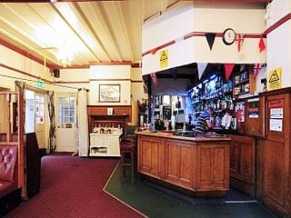 The British Volunteer Pub in 'The Greatest Show in Willesden'