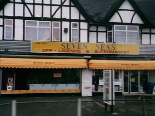 Seven Seas Off Licence & Supermarket in 'The Coach That Came In From The Cold'