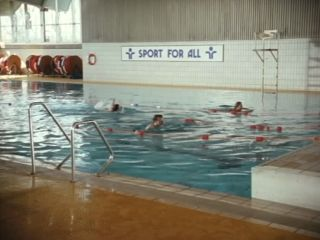 Swimming Pool in 'The Coach That Came In From The Cold'
