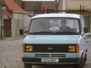 Arthur drives with Henry in 'Another Case of Van Blank'