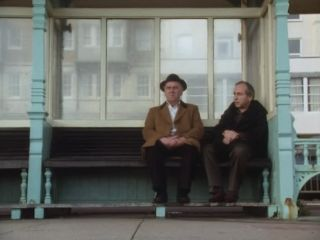 Arthur & Sidney sit at the pier in 'All Things Brighton Beautiful'