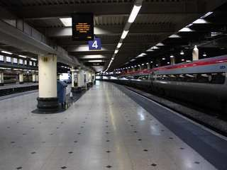 Euston station in 'One Flew Over The Parents' Nest'