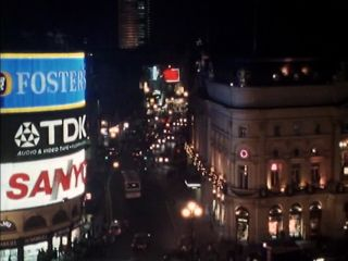Piccadilly Circus in 'All Quiet On The West End Front'