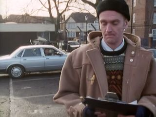 Arthur does Community Service in 'Bring Me The Head Of Arthur Daley'