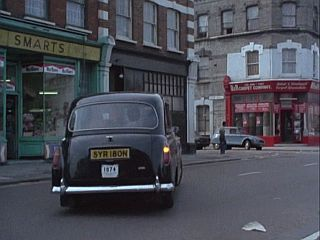 Fulham Road in 'Gunfight At The OK Laundrette'