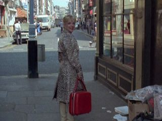Terry chats to Liz outside the New Rockingham Club in 'Gunfight at the OK Laundrette'