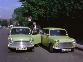 Mini Swap in Edith Road in 'Bury My Half At Waltham Green'