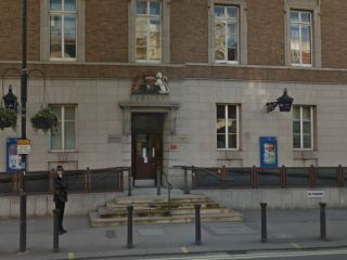 Hammersmith Police Station in 'The Smaller They Are'