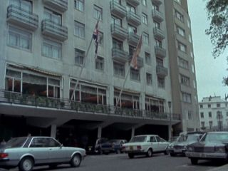 The hotel in 'The Smaller They Are'