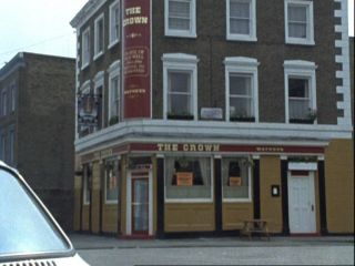 The Crown Pub in 'A Tethered Goat'