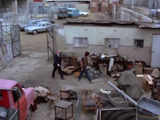 Vic's brother's yard in 'Monday Night Fever'
