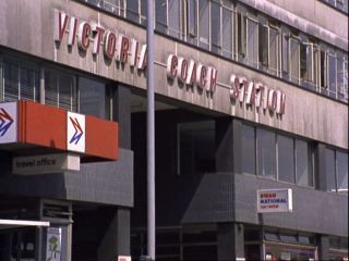 Victoria Coach Station in 'The Beer Hunter'