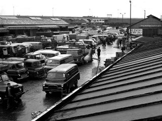 Brentford Market - late 1960s in 'The Old School Tie'