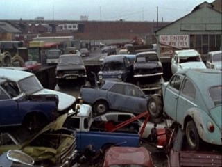 Brentford Market - 1980 in 'The Old School Tie'