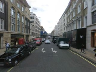 New Bond Street, Westminster in 'You Need Hands'