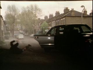 Arthur is thrown from the Mercedes in 'Looking For Micky'