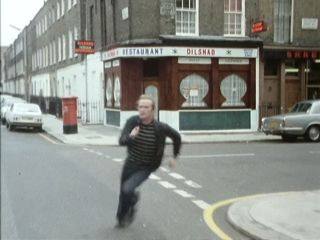 Terry chases Frank in 'In'