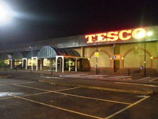 Tesco Supermarket in 'Gone With The Winchester'