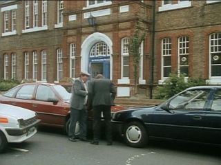 Collision outside Police station in 'Cars And Pints And Pains'