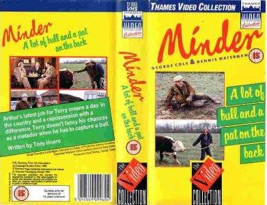 Minder VHS video release