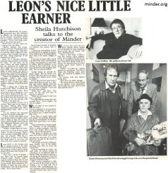 1984 Interview with Leon Griffiths